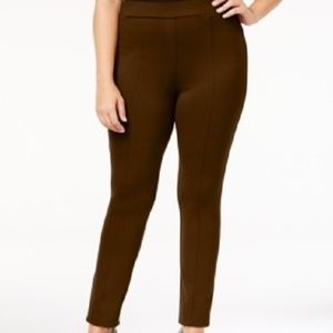 New Style & Co Seamed Ponte Leggings Pants